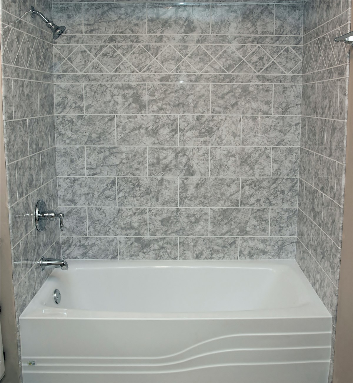 Beau Bath Wall Surrounds Photo 3