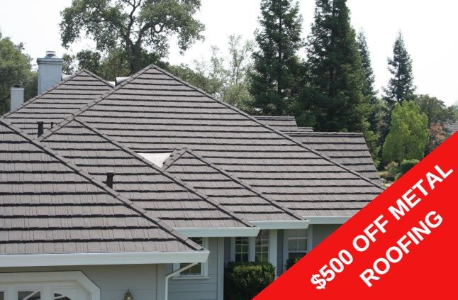$500 OFF METAL ROOFING PROJECTS!