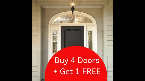 BUY 4 DOORS GET 1 FREE!!