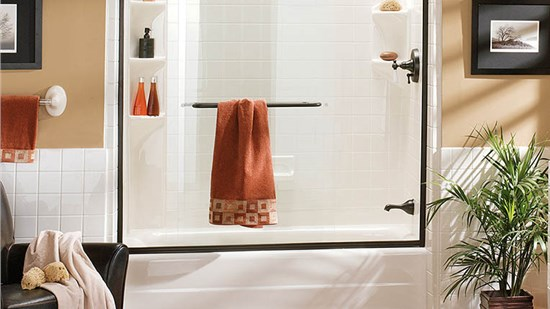 $500 Off Acrylic Bath or Shower, $1000 Off Onyx Surrounds