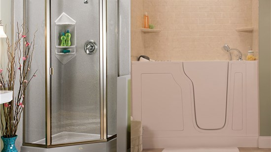 Big Savings on Showers and Walk-in Tubs