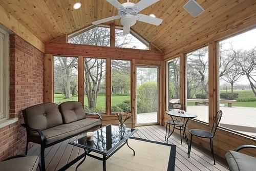 How to Winterize a Screened-In Porch