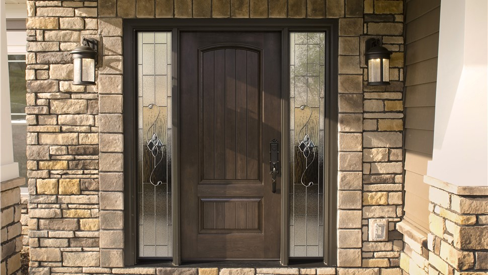 Wood Entry Doors 1