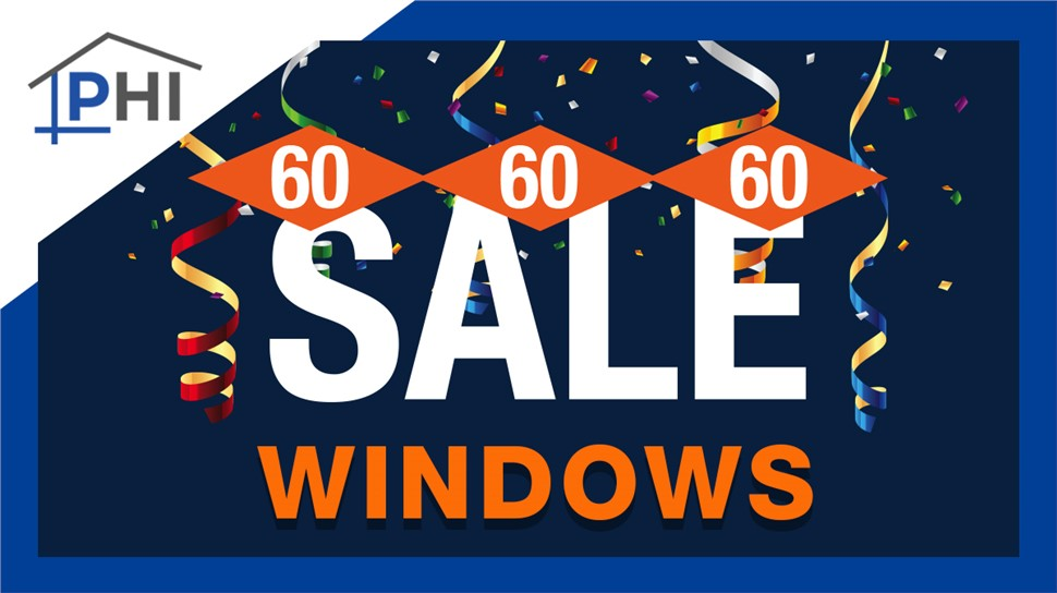 60% Off Window Installation, 60 Month Financing, & $60 Gift Card With Free In-Home Estimate
