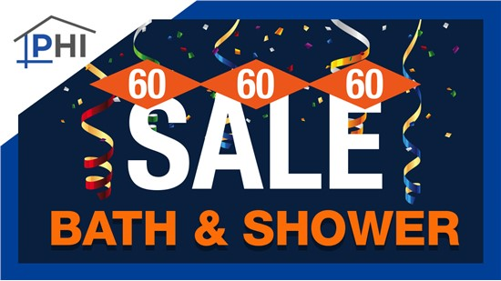 60% Off Bath or Shower Installation, 60 Month Financing, & $60 Gift Card With Free In-Home Estimate!
