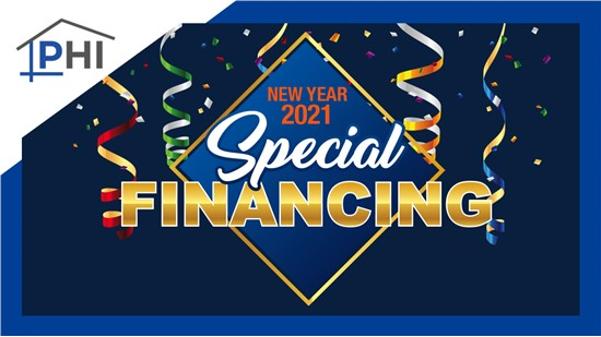 60 Month Financing Options - New Year Financing Special