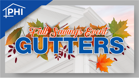 Get 75% Off Your Complete Gutter System!