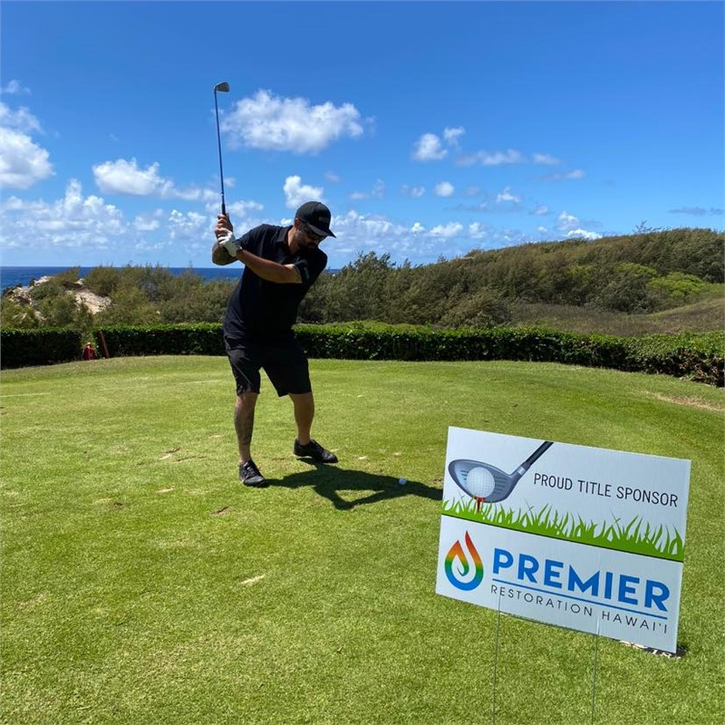 1st Annual Charity Walk Golf Tournament with Hawaii Lodging and Tourism Association Kauai