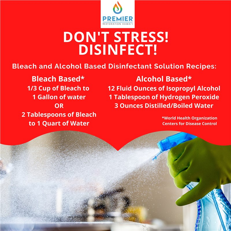 How To: Bleach and Alcohol Based Disinfectant Solution Recipes You Can Make At Home
