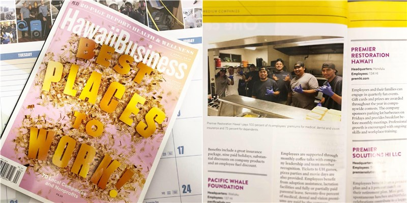 Hawaii Business Magazine: Best Places to Work 2019
