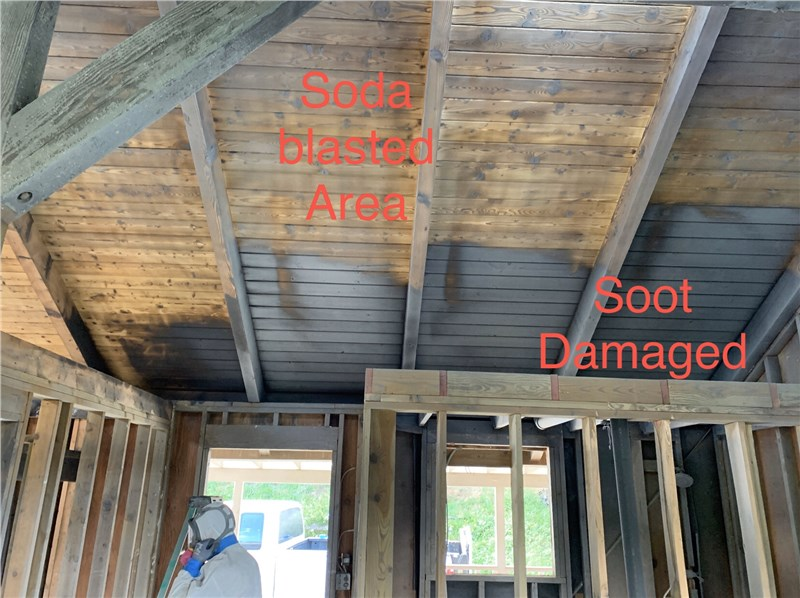 Soda-Blasting: The Ultimate Solution to A Fire Damaged Home