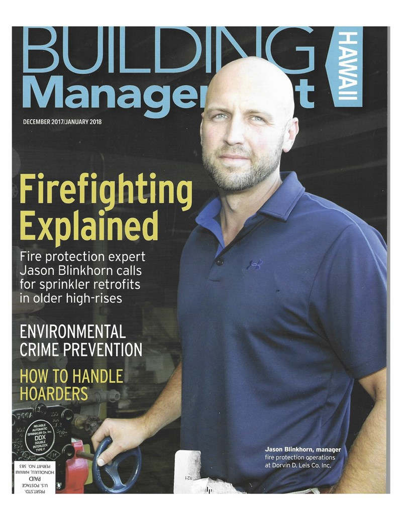 Premier featured in Building Management Hawai'i