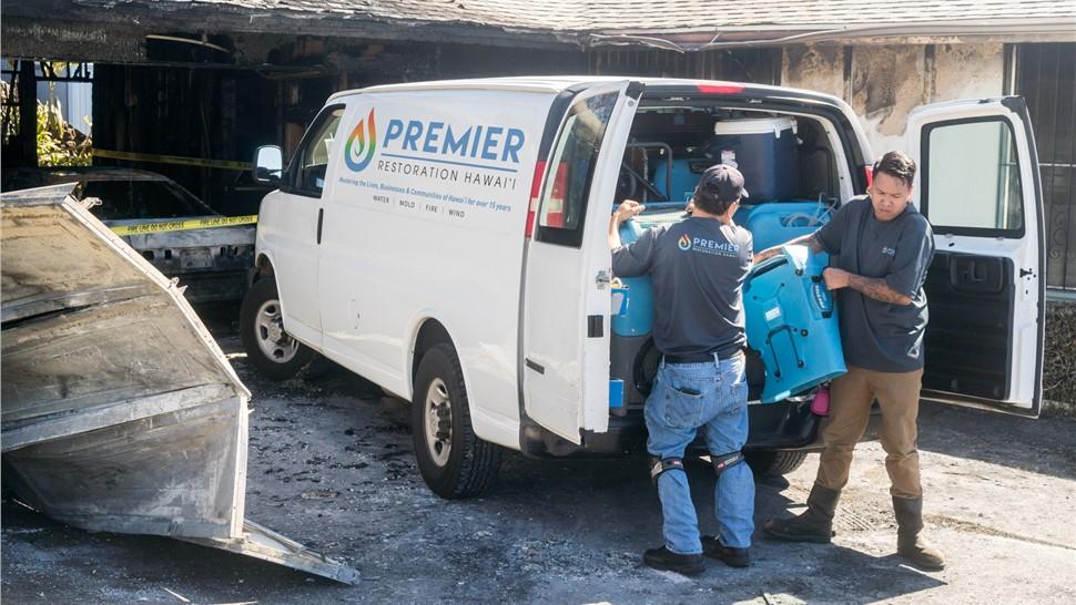 Kauai Fire Damage Photo 1