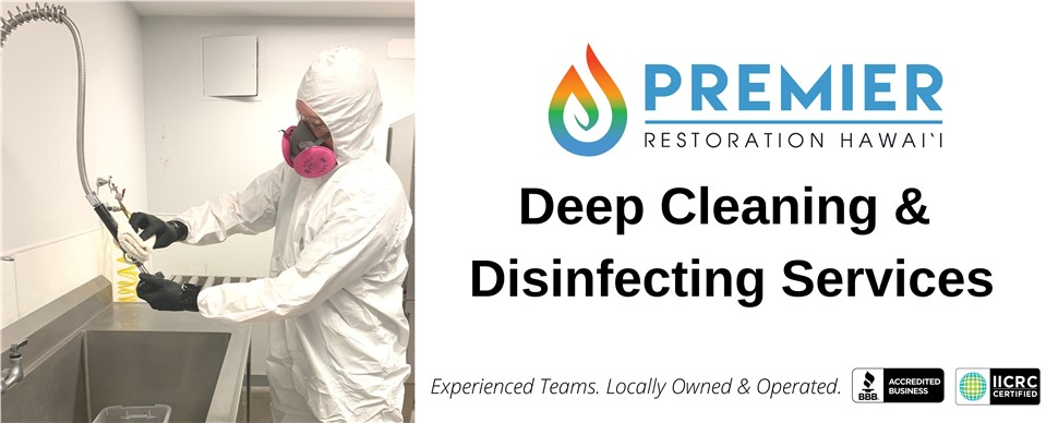 Deep Cleaning & Disinfecting Services