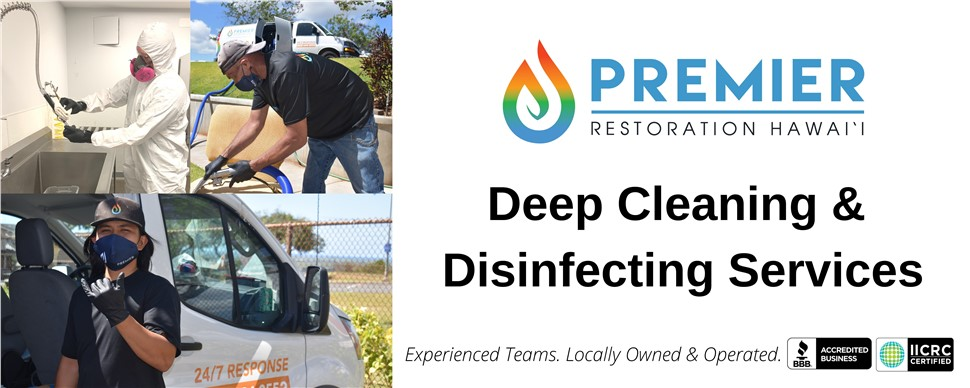Professional Deep Cleaning & Disinfecting Services for Retail Merchants of Hawai'i