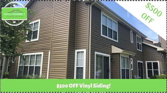 offer for vinyl siding