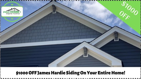 offer on james hardie siding