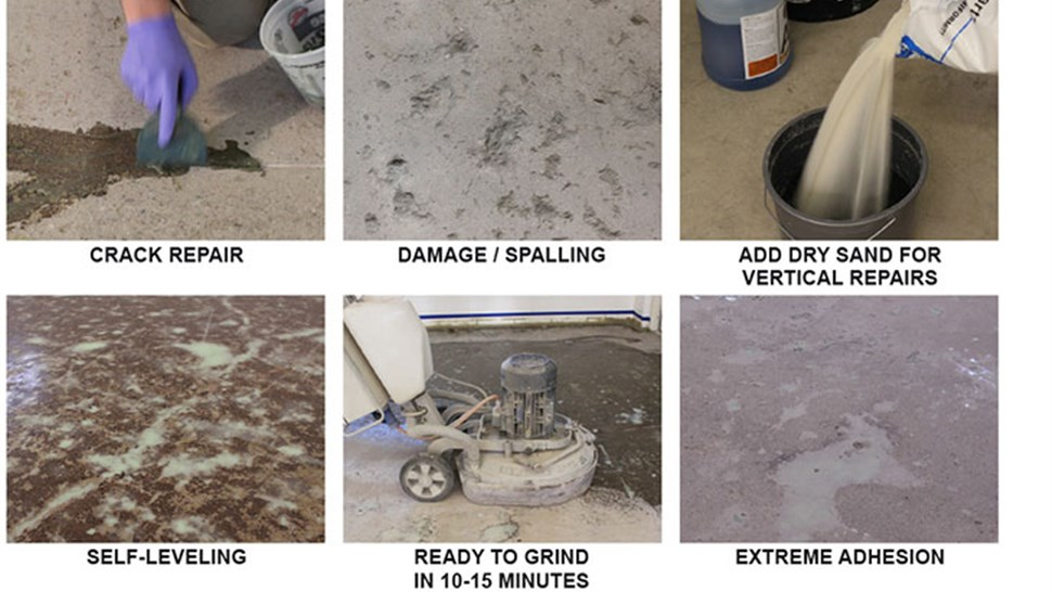 Concrete Floor Coatings - Repair System Photo 1