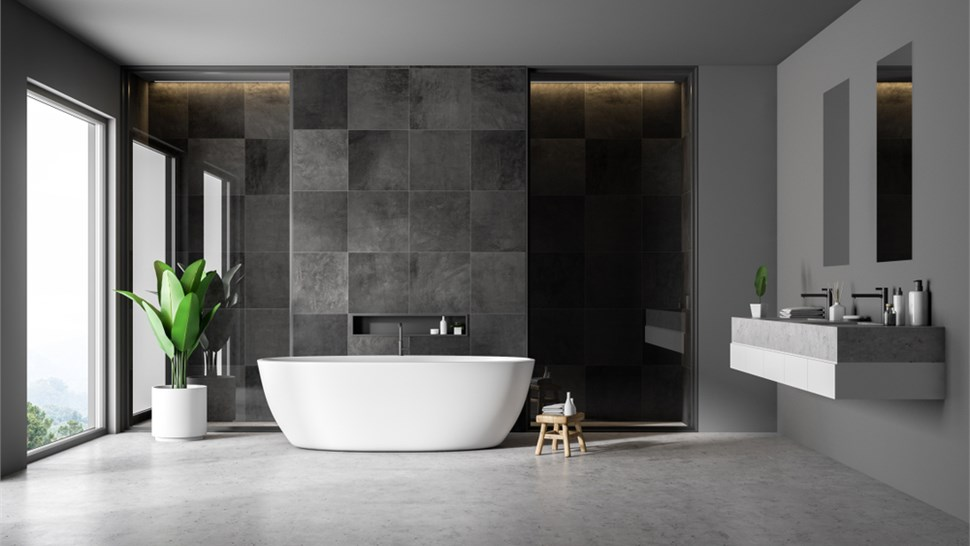 Residential Floor Coatings - Bathroom Floor Coating Photo 1