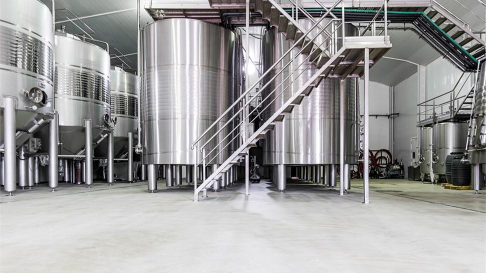 Industrial Floor Coatings - Winery Floor Coating Photo 1
