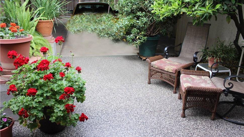 Residential Floor Coatings - Patio Surface Coating Photo 1