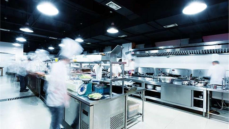 Commercial Floor Coatings - Kitchen Floor Coating Photo 1