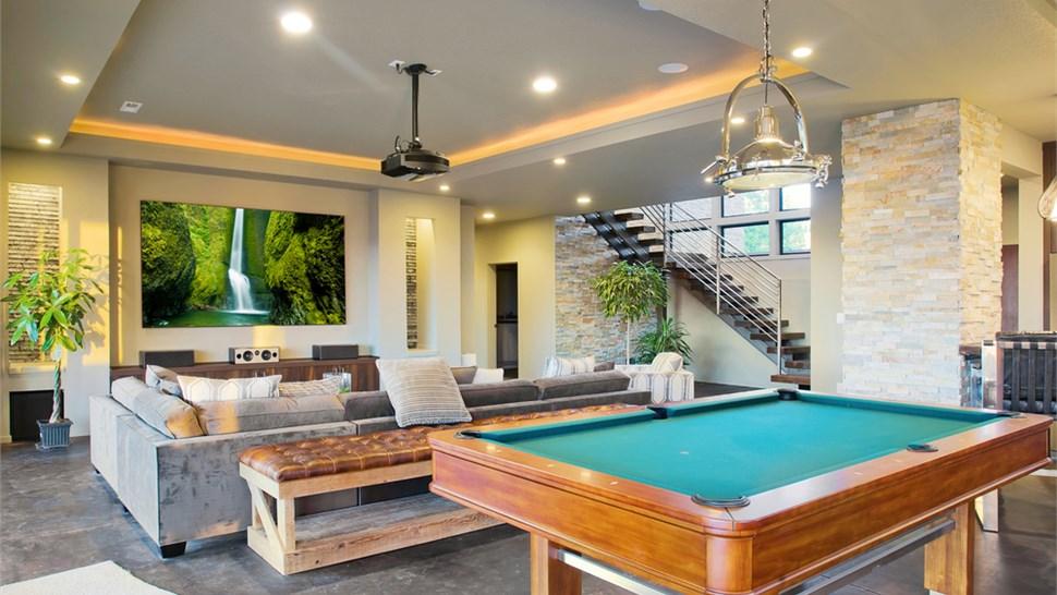 Residential Floor Coatings - Rec Room Floor Coating Photo 1