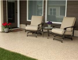 Residential Floor Coatings - Patio Surface Coating Photo 2