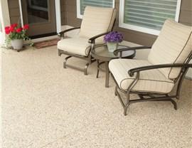 Residential Floor Coatings - Patio Surface Coating Photo 4