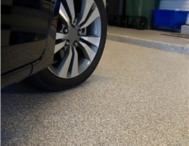 Residential Floor Coatings - Garage Floor Coating Photo 4