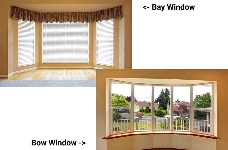 Bay vs Bow Windows? What's the Difference?