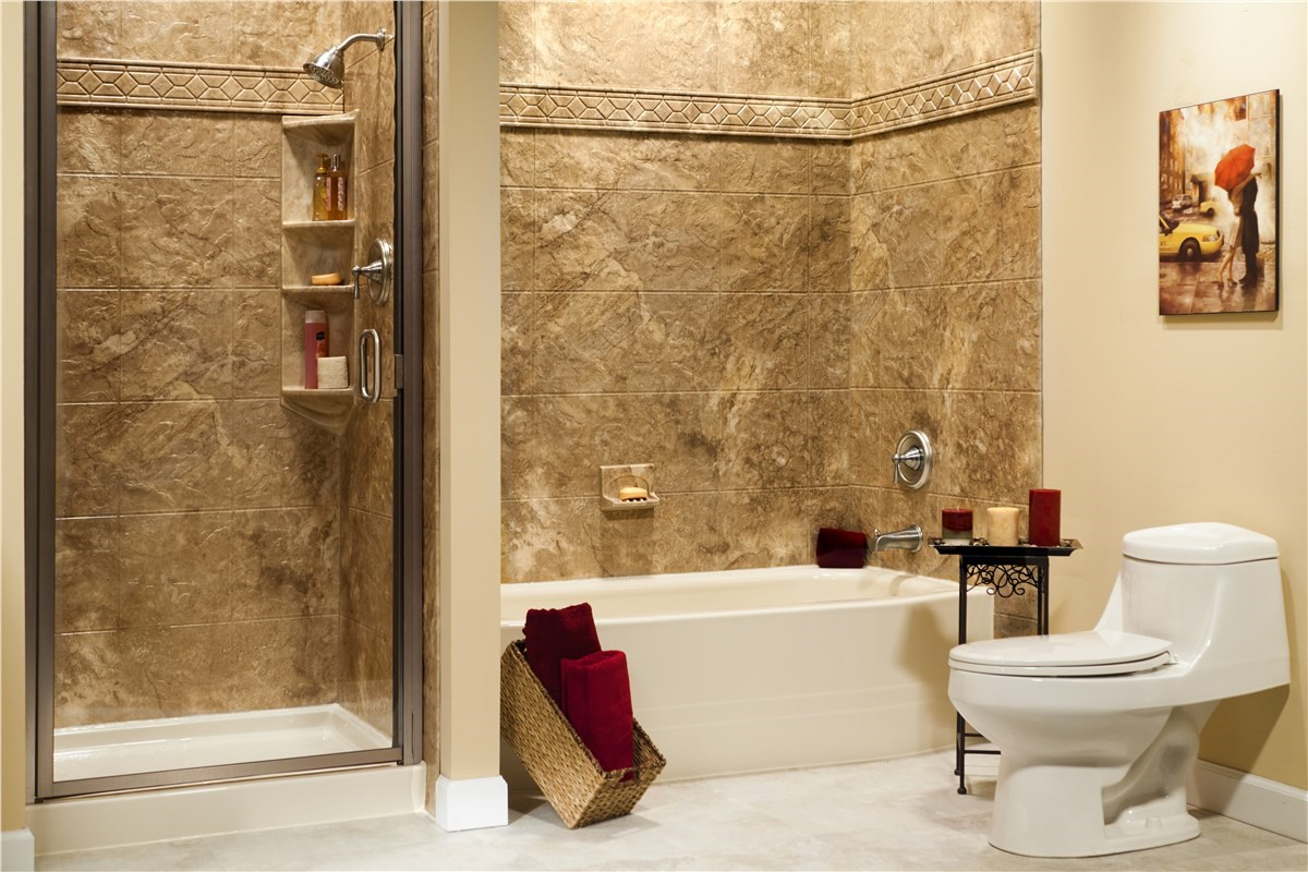 Bath Wall & Surrounds | Bathroom Remodeling | NM | Sandia Sunrooms