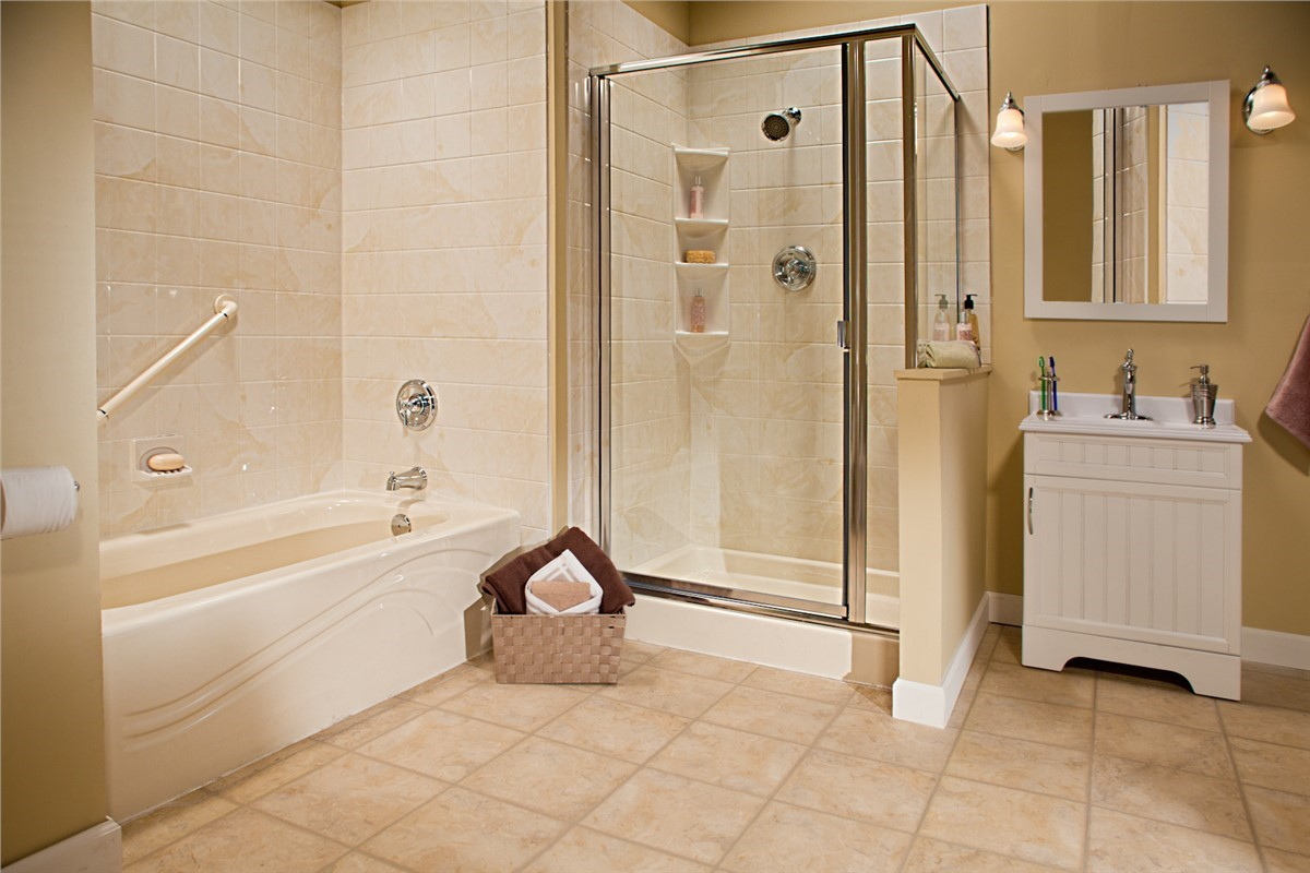 Replacement Showers Bathroom Remodeling NM Sandia Sunrooms - Bathroom remodel springfield il