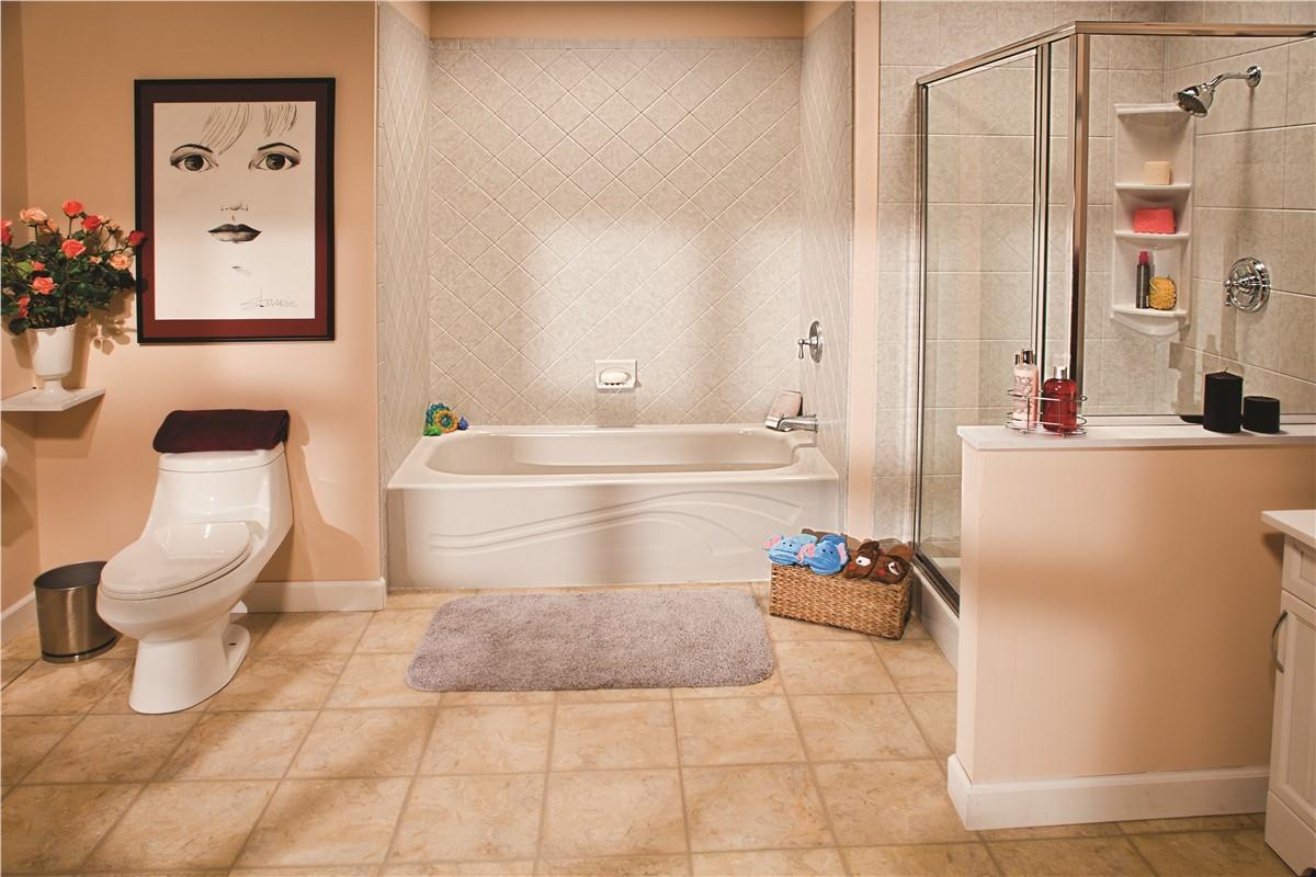 One Day Bath Remodel | New Mexico | Sandia Sunrooms