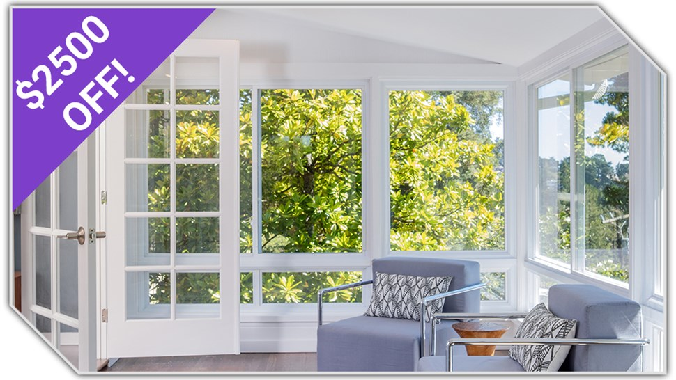 $2500 OFF Sunrooms