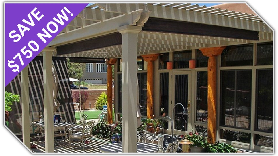 $750 OFF Patio Covers