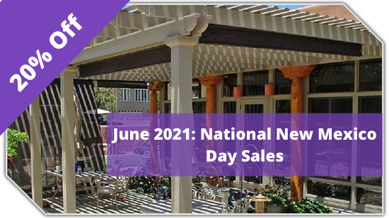 National New Mexico Day 20 % Off Entire Job!
