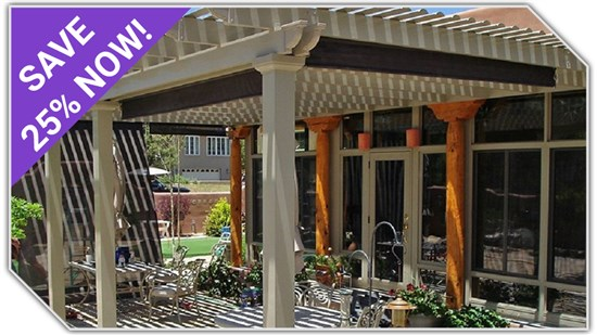 25% OFF Patio Covers