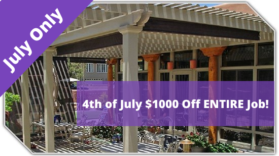 4th of July $1000 Off ENTIRE Job!