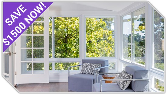 $1500 OFF Sunrooms