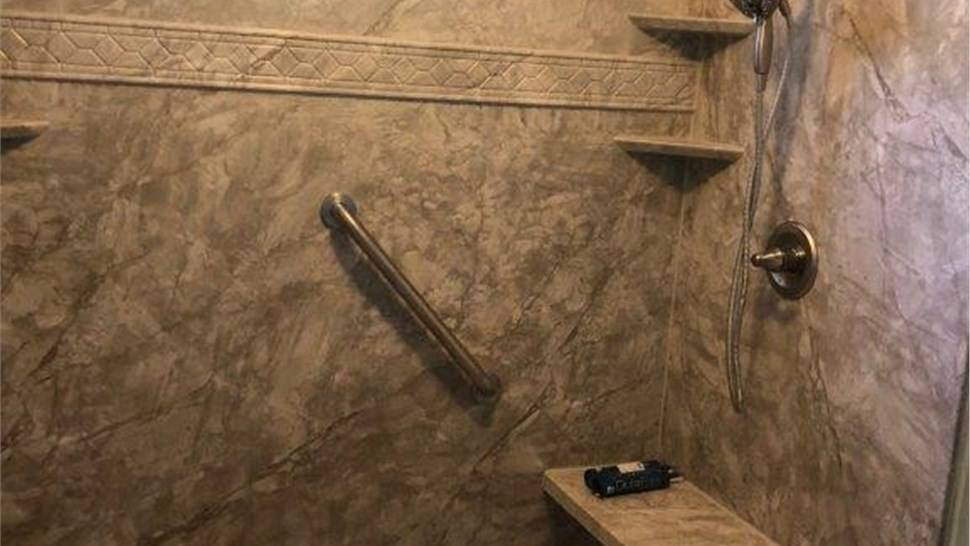 Bathroom Remodeling - Replacement Showers Photo 1