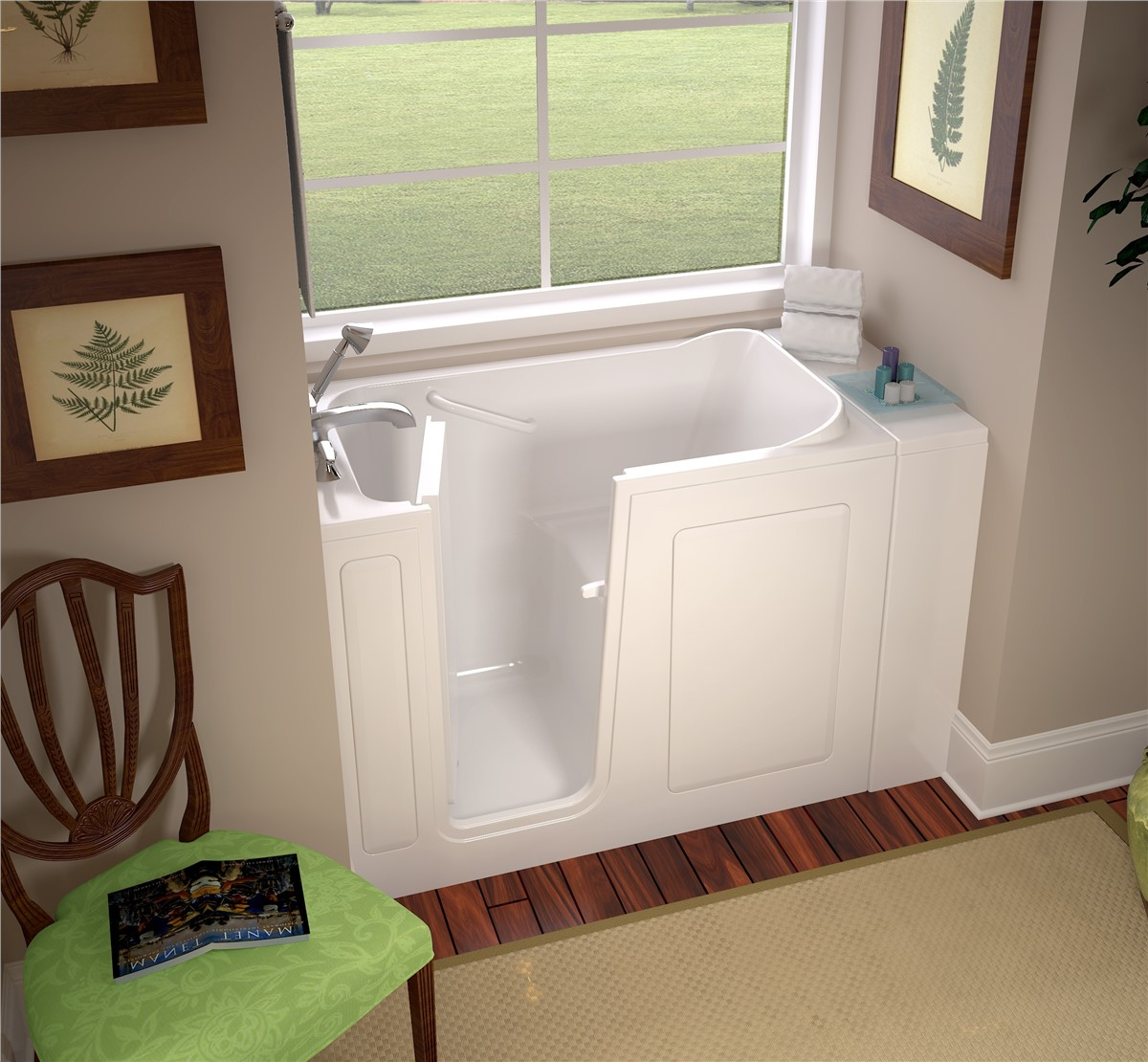 Northern California Walk-In Tubs | Chico Walk-In Tub | Selig Custom
