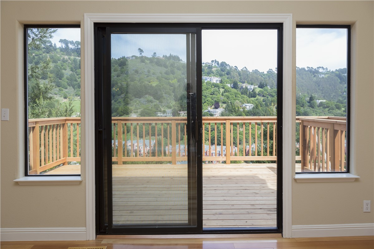 Northern California French Rail Patio Door French Rail