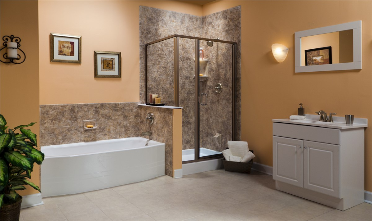 Northern california bathroom remodelers chico bath for Bath remodel one day