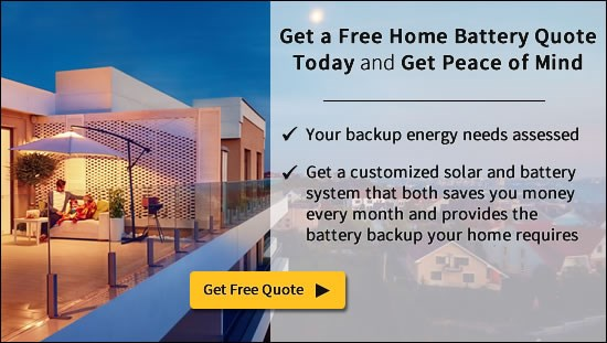 Get a LG Home Battery Quote