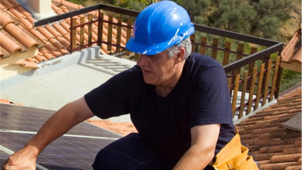 Residential Solar Energy: Solar Panel Installation Photo 1