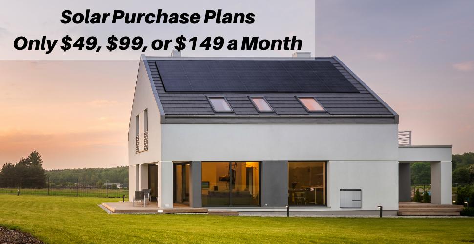Solar Purchase Plans