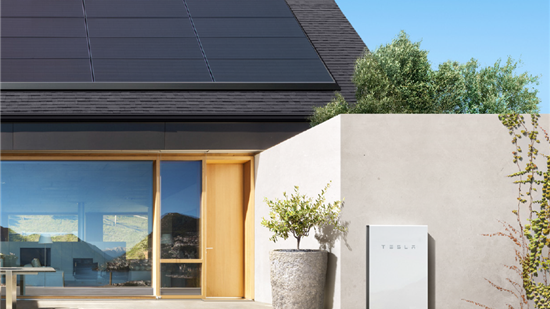 Tesla solar panels and Powerwall provided by Solar Max Technology