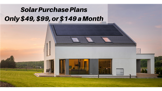 Solar Purchase Plans