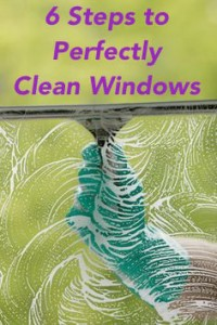 window cleaning tips and steps